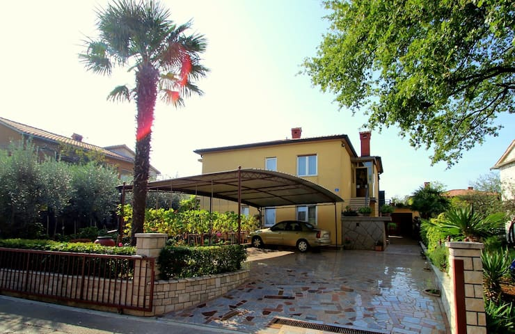 Apartment -386- in Umag for 2 persons