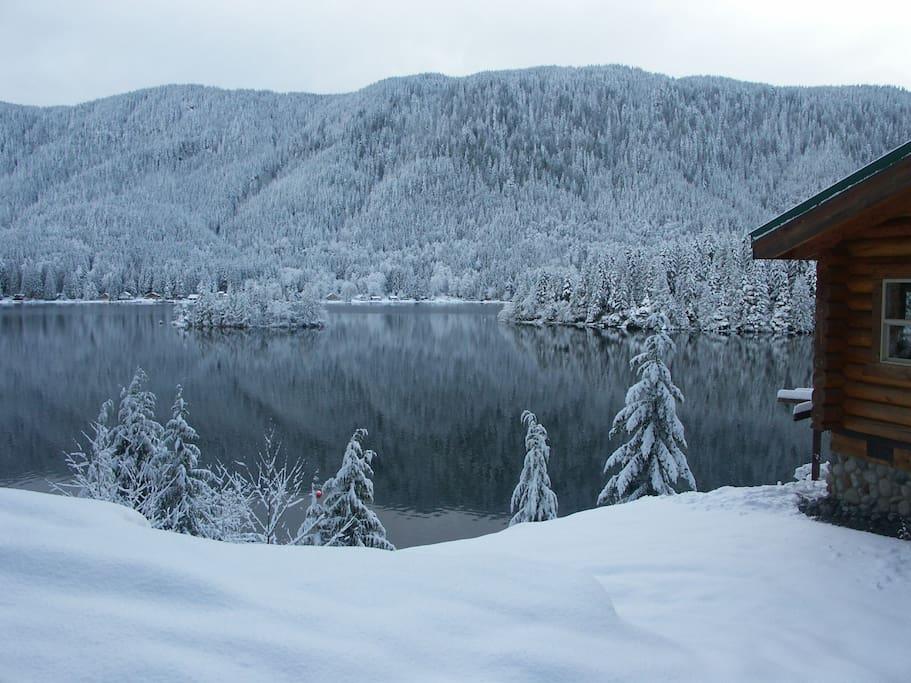 Breathtaking wintertime retreat