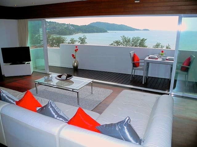 Patong tower fantastic sea views - Patong - Appartement