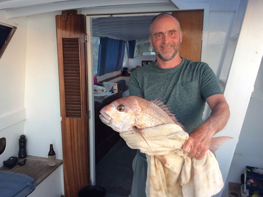 A guest from the UK. Great fish. This could be you.