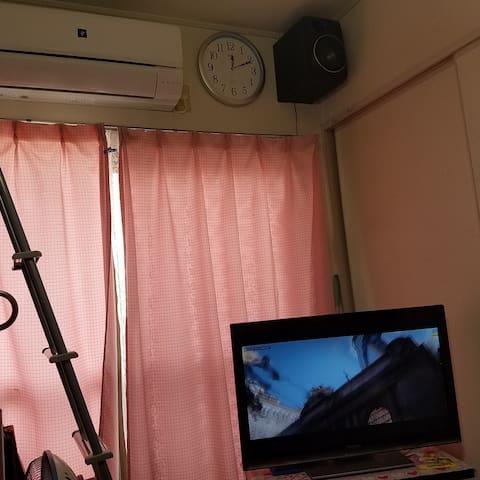 1 Room Apartment 4 stations to UMEDA - Higashiyodogawa-ku, Ōsaka-shi - Квартира