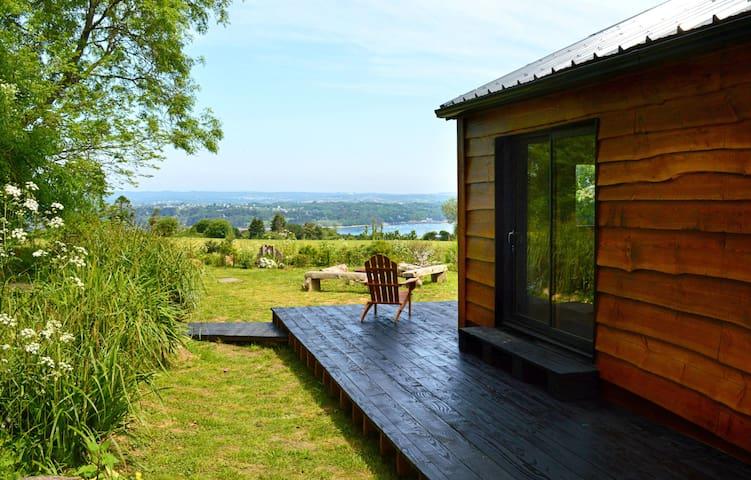 Cabane écologique vue mer, tout confort - wifi - Landévennec - Chatka