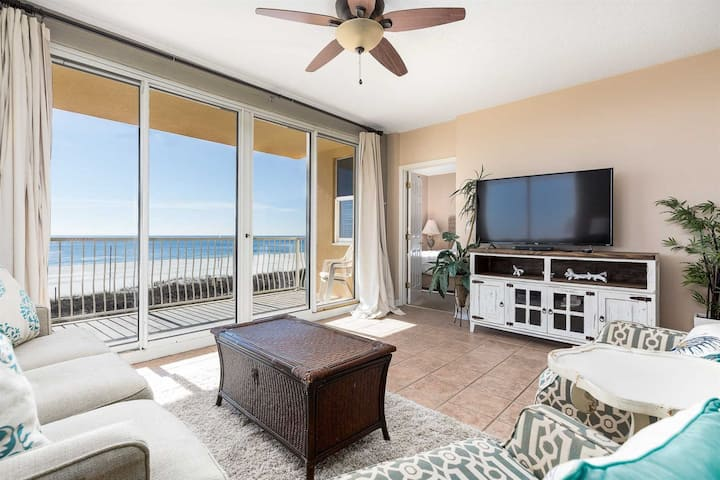 New To Our Program! Beach Front! Great Price! Fantastic Views! Open Calendar! - Emerald Key 201