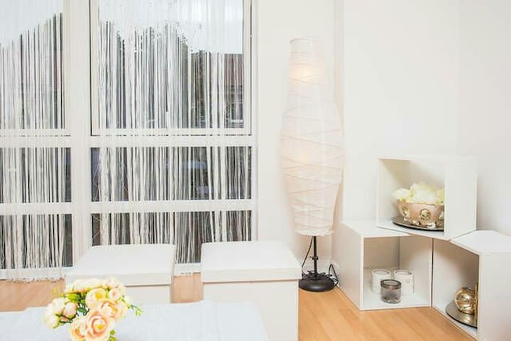 Bright Private Room in Canary Wharf