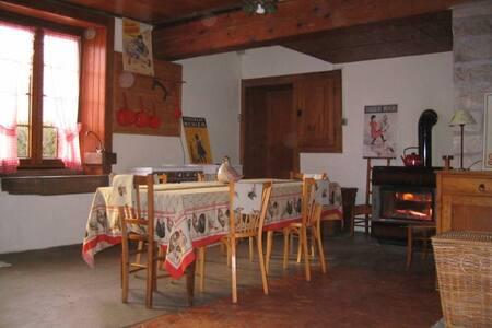 Authentique ferme comtoise. - Courtetain-et-Salans - Dům