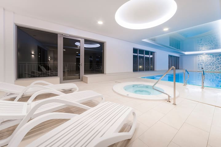 WaterLane - free parking, swimming pool, sauna