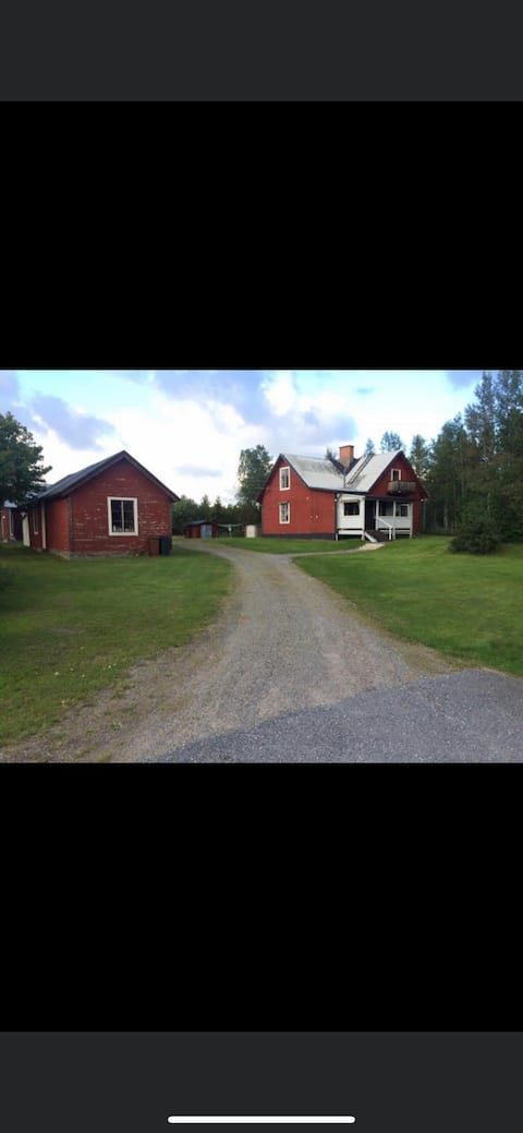 Country house in Jörn with the forest at Your feet