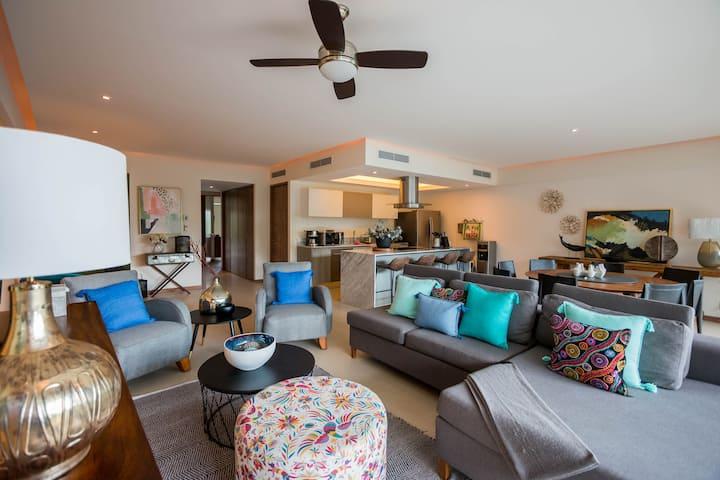 Moderno y Exclusivo depa Peninsula Nuevo Vallarta