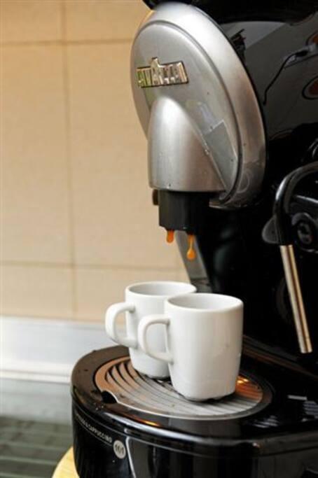 An espresso?