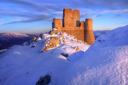 caratteristica casa in montagna - Calascio