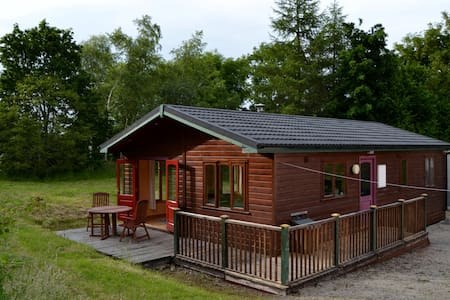 Comfortable Cabin in Lakeland Sligo - Lomamökki