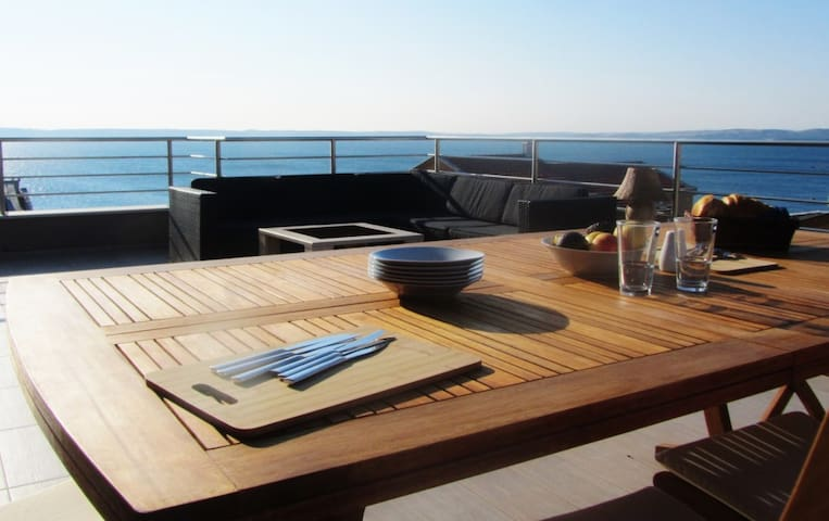 penthouse duplex at the seaside... - Benici  - Apartamento