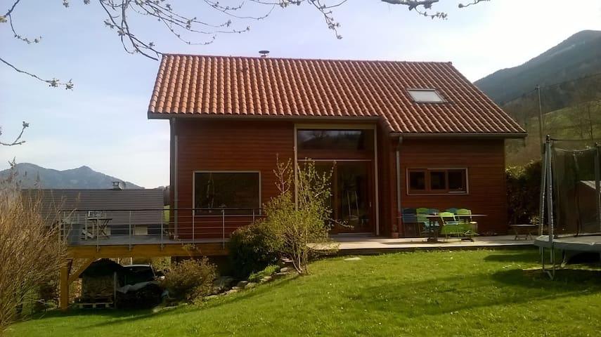 Maison de montagne en ossature bois - Theys
