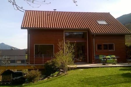 Maison de montagne en ossature bois - Theys - Casa