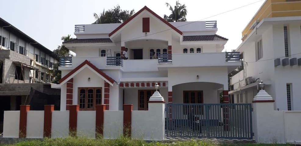 Near cochin international Airport, just 4 km.