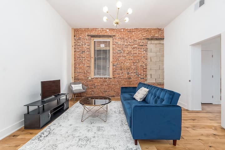 Gorgeous & cozy 2 BR loft apartment Downtown!