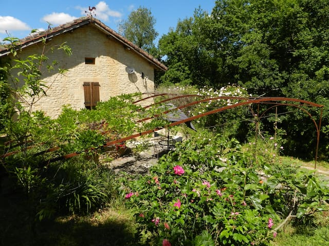 Charming gite with pool near Cahors - Pontcirq - 公寓