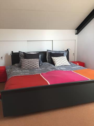 Mooie rustige kamer in buitengebied van Langbroek - Langbroek - บ้าน