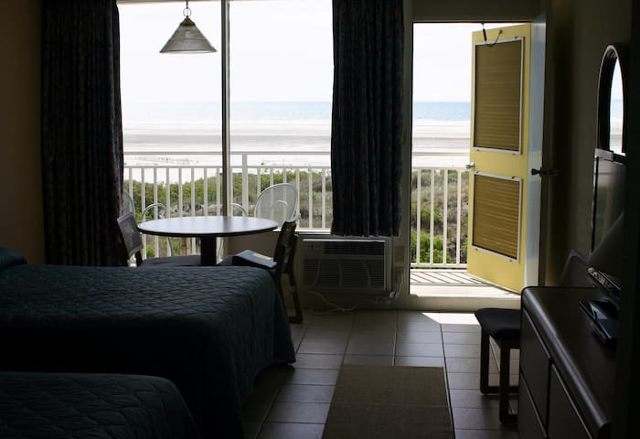 OCEANFRONT hotel unit. Private Balc