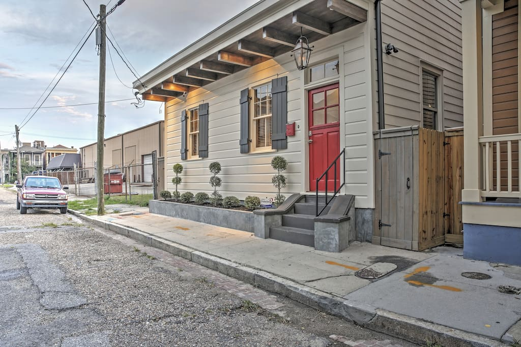 Cozy 2br Cottage Near Lower Garden District Houses For Rent In New Orleans Louisiana United