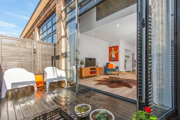 City Fringe Converted Industrial Townhouse