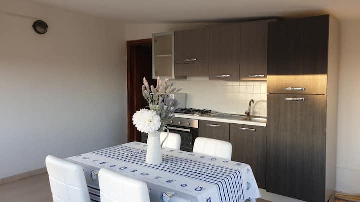 Appartamento Loc. Porto Pino... vista panoramica