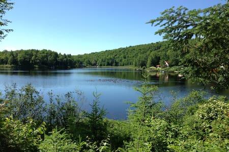 Petit paradis au bord du lac - Chalet