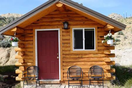 HorseWorks Wyoming Rustic Hunting Cabin
