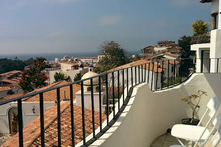 Sunny private room with epic views of the bay - Puerto Vallarta - Appartement