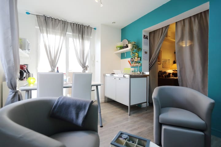 So Cosy Appartement -  WIFI, Terrasse TOURS Centre - Tours - Apartamento