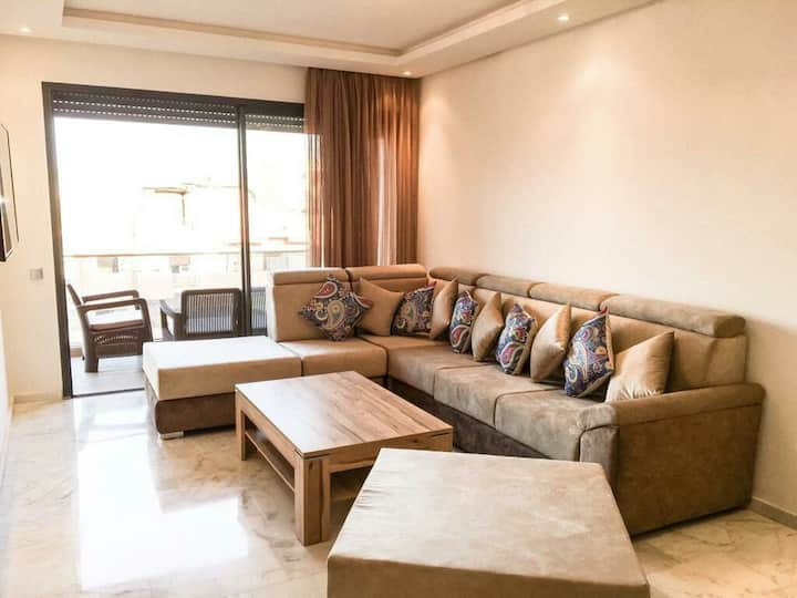 A Modern & Homely Apartment in Gueliz !