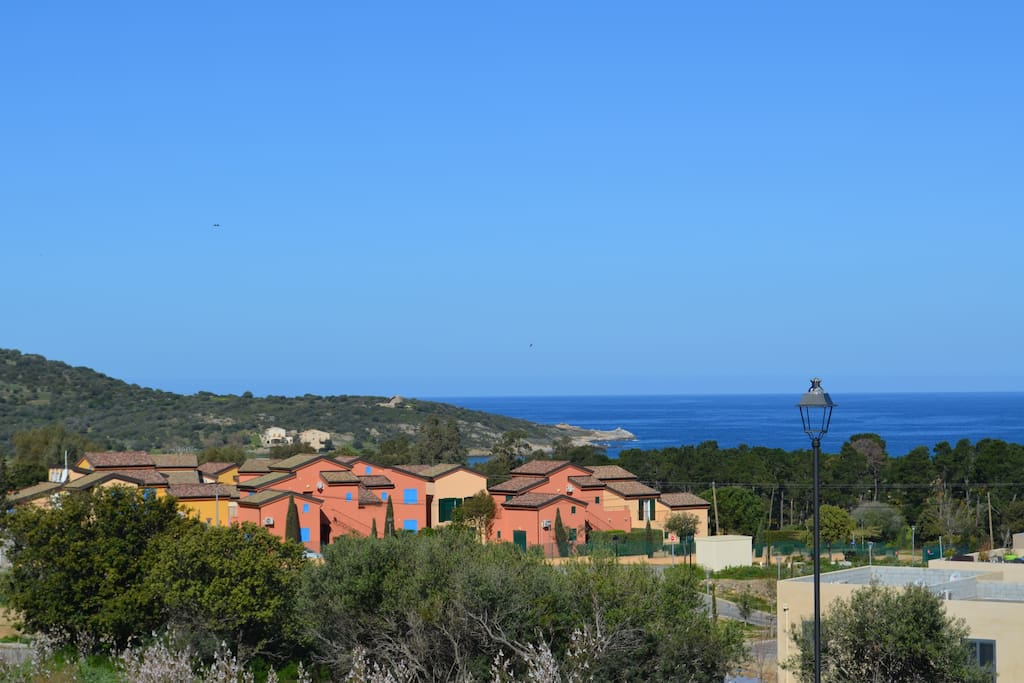 La résidence près de la mer