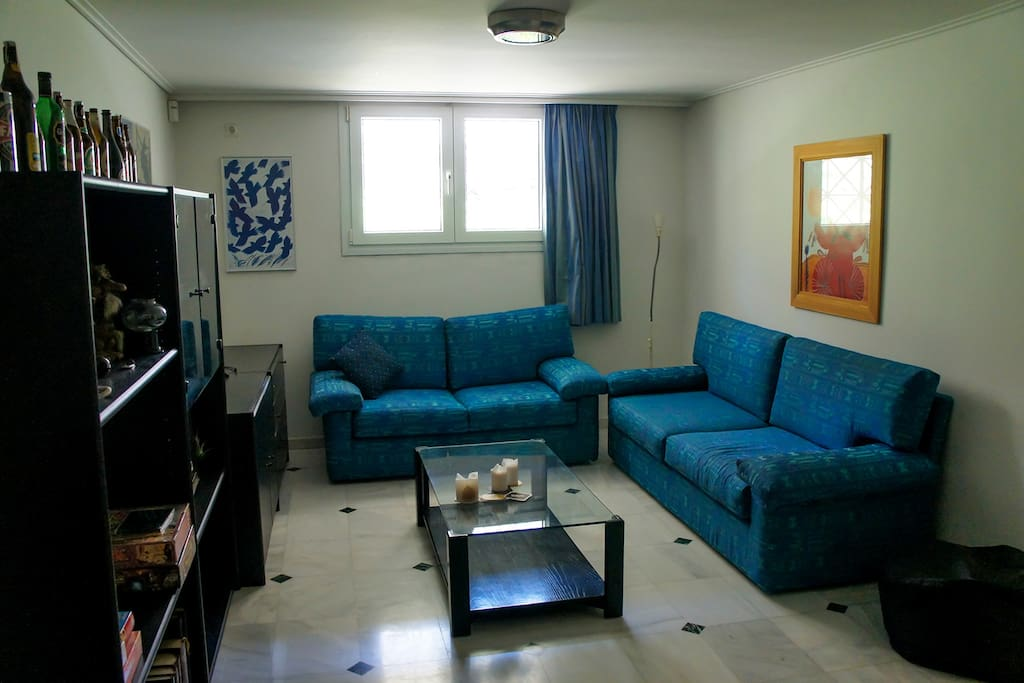 Part of the living room.