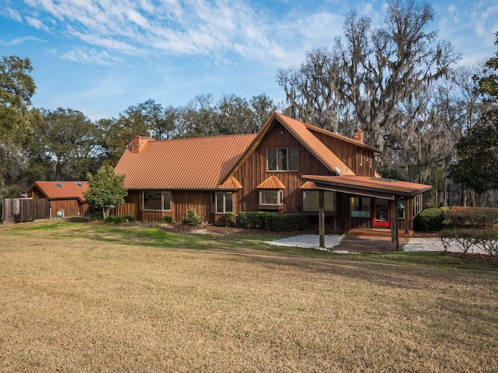 Spectacular Country House near to Ocala - The Horse Country