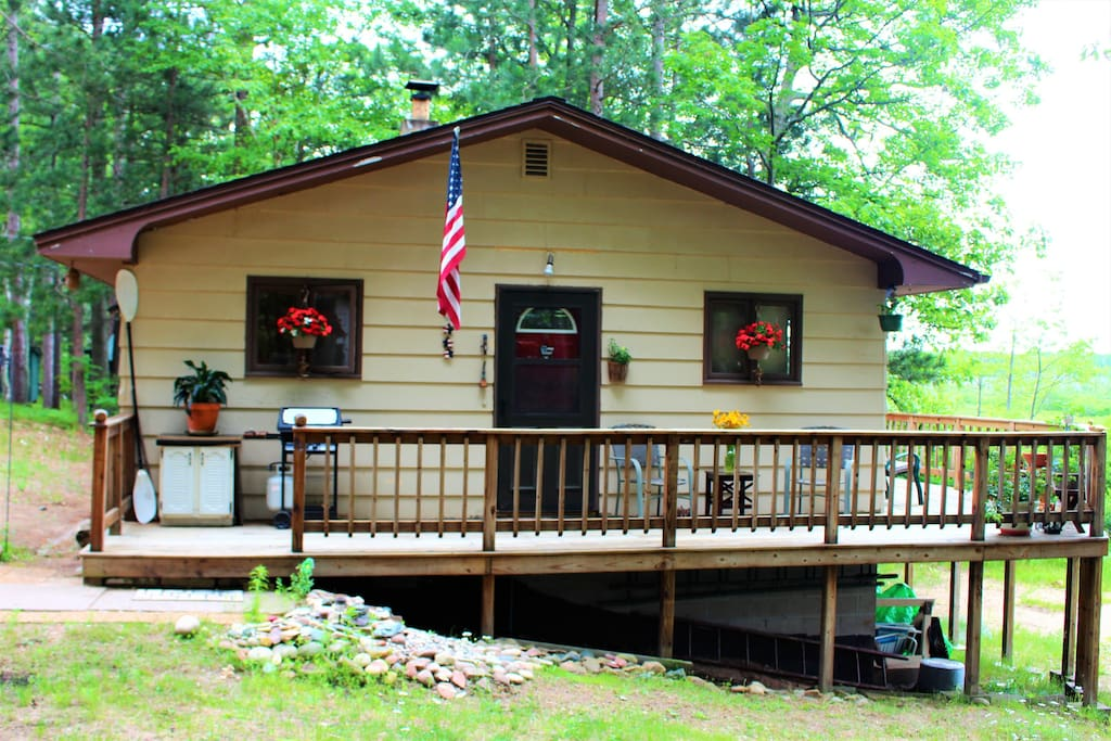 Cabin on Kawbawgam Lake in Marquette Michigan - Cottages ...