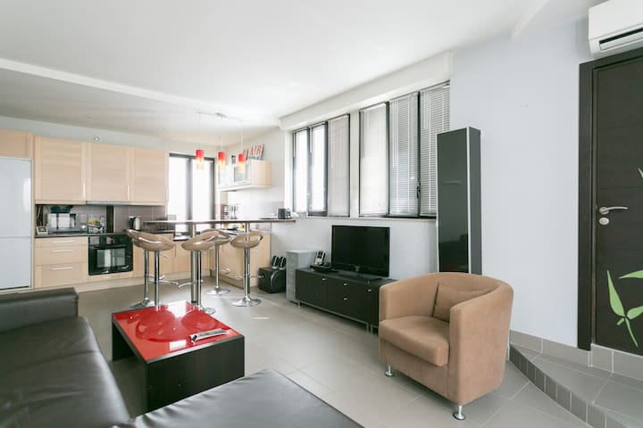 Awesome home near Paris, up to 6 travelers - Boulogne-Billancourt - Loft