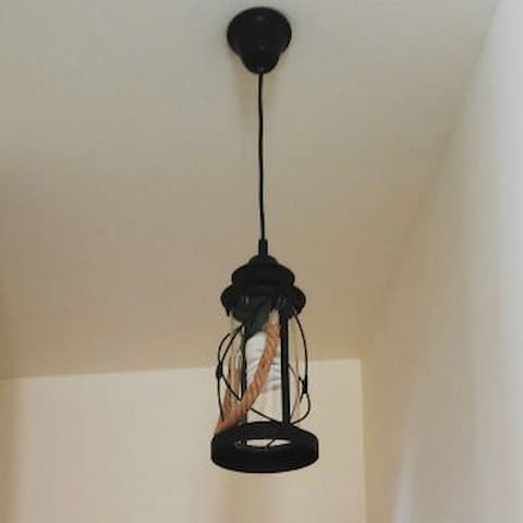 Hallway nautical lamp