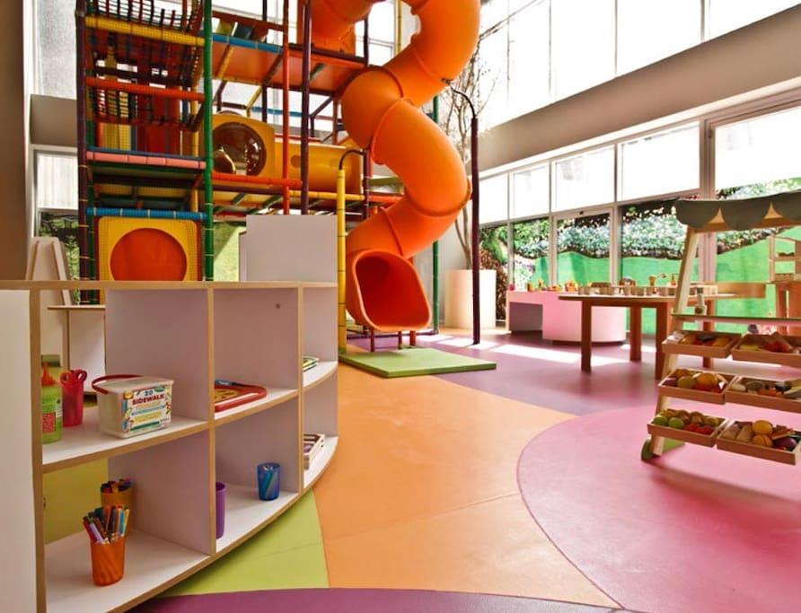 Area de juegos para niños
