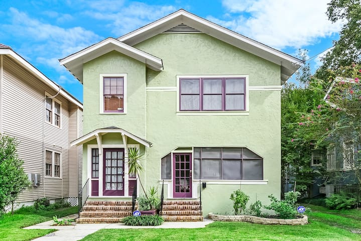Enjoy your stay at our Craftsman era home in our quiet residential New Orleans neighborhood