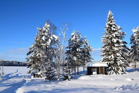 ★ Lapland Yurts ★ The Tiny Lake House ★