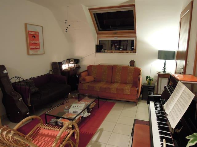 Maison 2 chambres dbl au centre - Lannion - Dům