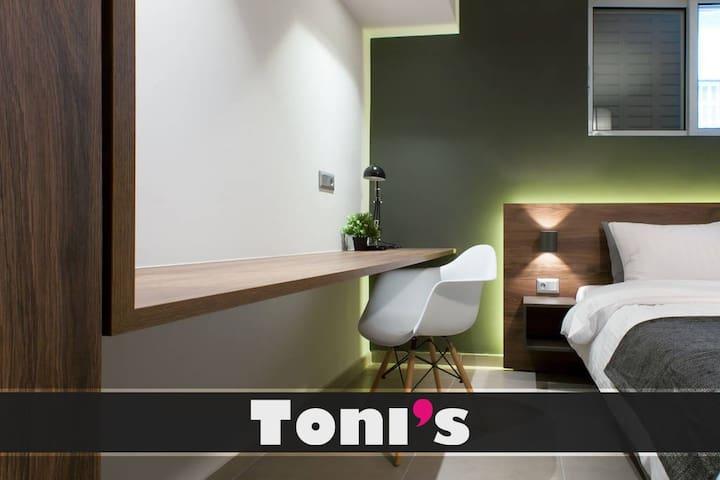 Toni's - 2BD Central Home near Acropoli close to metro!