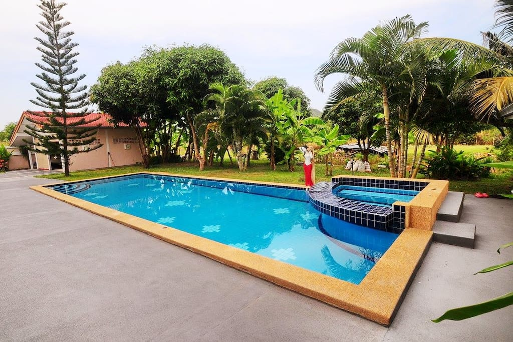 Swimming pool for all the guests to enjoy :D