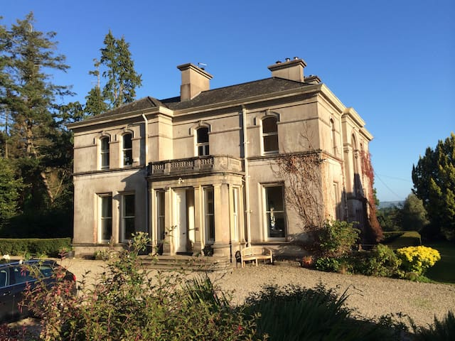 Historic Country House, Dungarvan (Twin room)