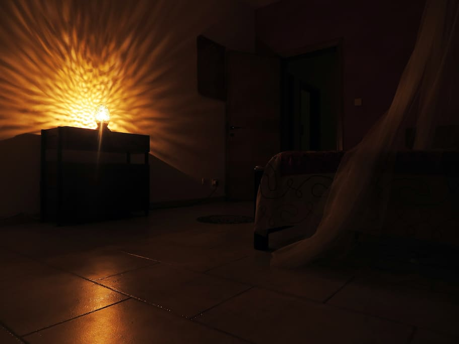 Relax at night in Domum (Home), We know  that tranquility is very important