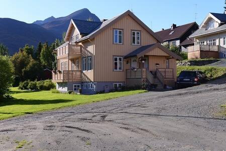 Kristina's rental apartment, Lyngen