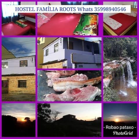 Hostel Família Roots.