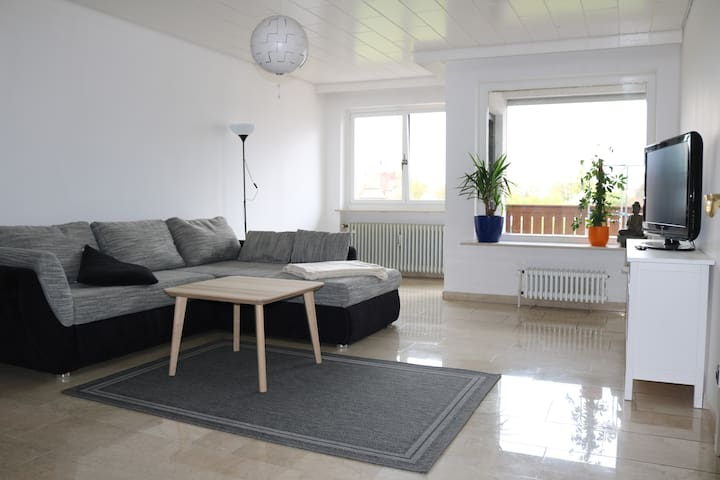 Sonniges, zentrales Appartement mit großem Balkon - Bamberg - Appartement