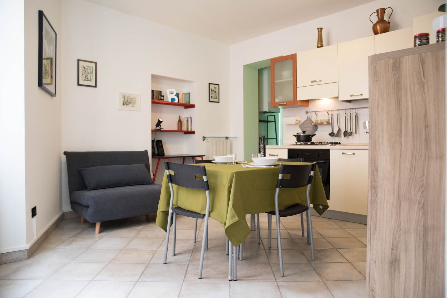 Casa Bajarico SANREMO  I'm a local host, Casa Bajarico is my family house!  I live near the apartment and i'm really happy to welcome you at my house I'm here  to help you ENJOY your   RIVIERA EXPERIENCE!!