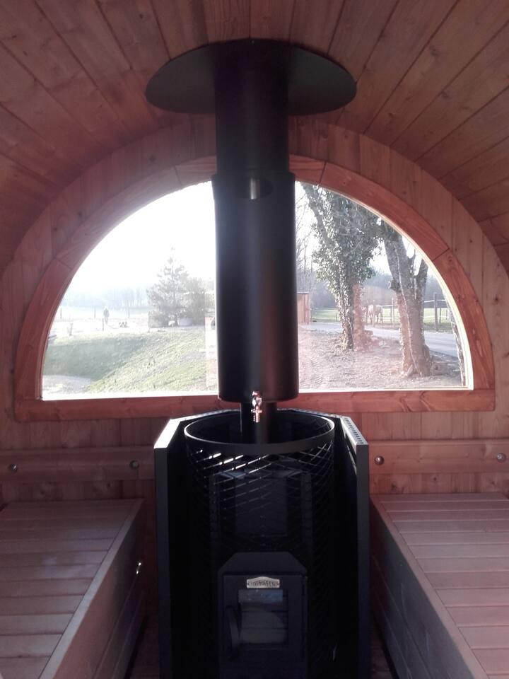 barrique des 4 saisons - Blockhütten zur Miete in Picarreau
